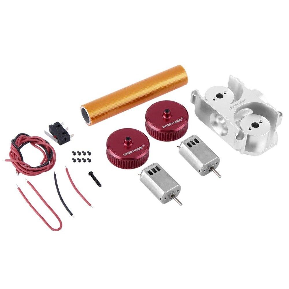Ouvrier Mod Kits de mise à jour de volant modifié accessoires de pistolet pour Nerf Stryfe/Rapidstrike CS-18 jouet Grain droit Type de puissance rouge