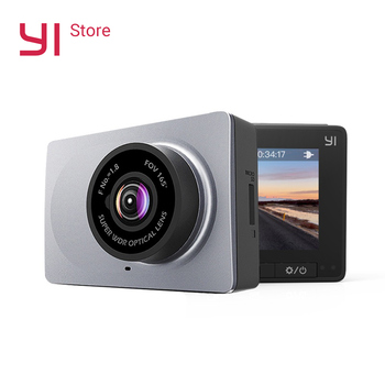 "YI Smart Dash Camera 1080P Video Recorder Car DVR WiFi Full HD Cam Night Vision 2.7"" 165 Degree 60fps ADAS Safe Reminder"