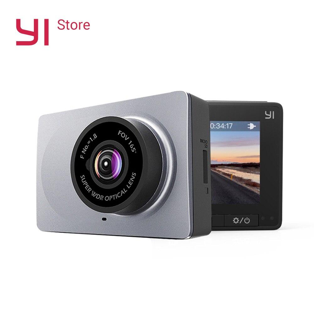 Yi câmera traço inteligente 1080 p gravador de vídeo do carro dvr wifi hd completo cam visão noturna 2.7