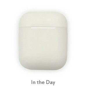 Светящийся в темноте Силиконовый чехол для Apple Airpods, защита от потери, чехол для наушников AirPods