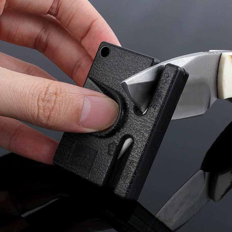 Mini Portable Knife Sharpening Tool Multifunctional Outdoor Tungsten Steel Knife Sharpeners Hot Selling