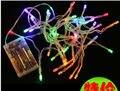 4 M 40LED AA bateria fada luz cordas de festa de casamento de natal LED decor-9 cores X300PCS