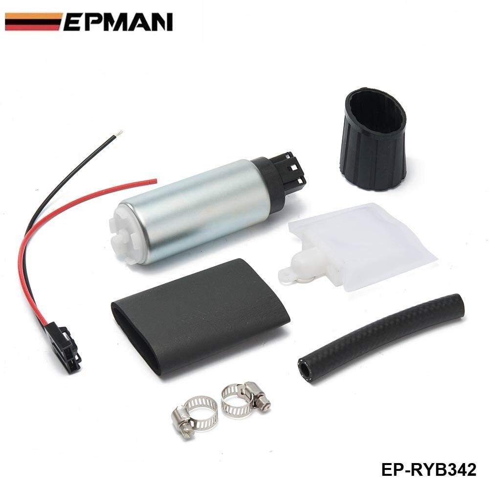 정품 Epman 255 LPH 고압 탱크 내 전기 연료 펌프 범용 GSS342 EP-RYB342