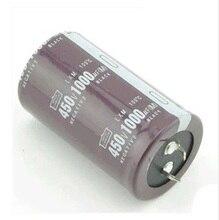 Бесплатная доставка оригинальный Алюминий электролитические конденсаторы 1000UF450V 450V1000UF 450 В 1000 мкФ 35×50 5 шт./лот