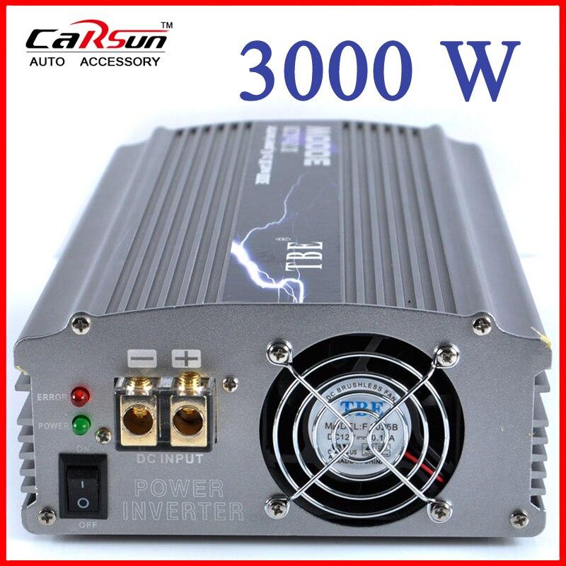 Dcac Power 3000 Watt Power Inverters 24 Volt Dc To 110