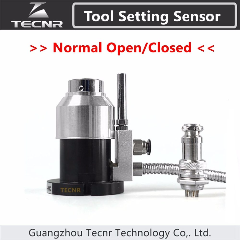 TECNR High Precision Automatic Tool Sensor Tool Setting Auto-Check Instrument Z Axis Gauge For Cnc Router