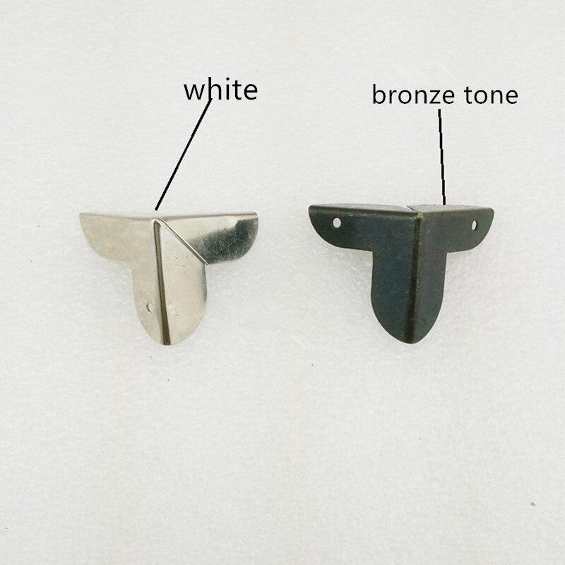 Luggage Case Box Corner Brackets Decorative Corner For Furniture Decoration  Triangular Rattan Carved Bronze Tone 22*22*23mm,8Pcs In Corner Brackets  From ...