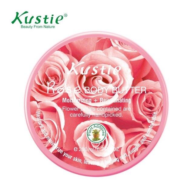 Kustie Professional Skincare Intense Moisturizer Rejuvenating Rose Body Butter (200ml)