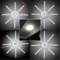 High Quality 12/16/20/24W Round 5730SMD LED Ceiling Panel Down Lights Bulb Lamp White 220V