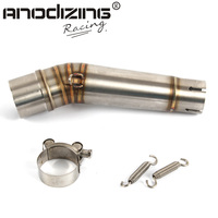 Free Shipping Motorcycle Exhaust middle pipe for HONDA NC700 2012-2017 without exhaust Slip-On