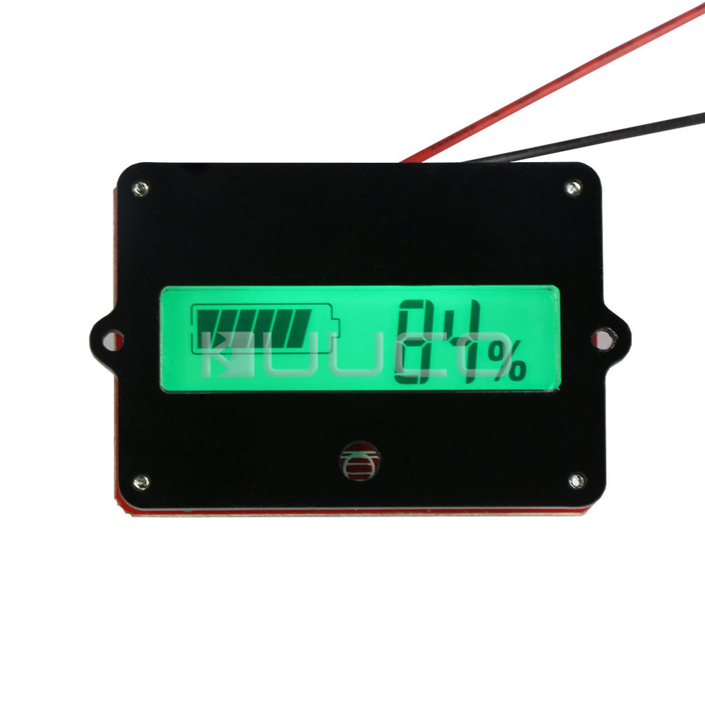 Dc Battery Tester : Dc v lithium battery capacity tester monitor meter liion