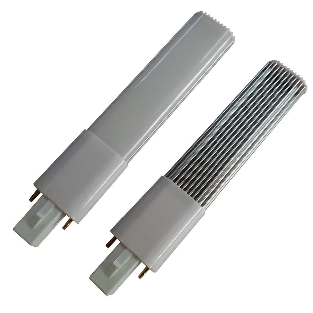 10pcs A Lot G23 Led Pl Bulb Lamp 2 Pin Base Led Horizontal