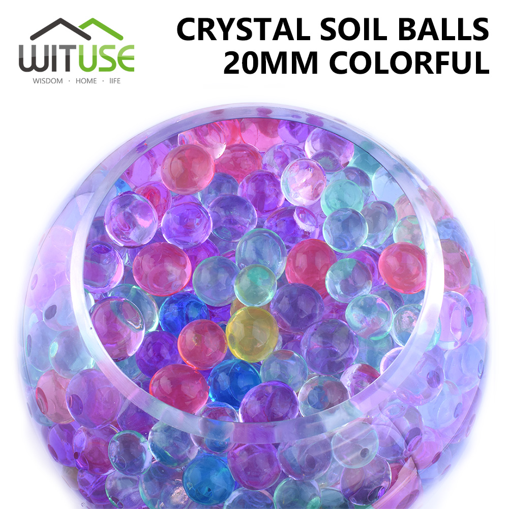 Aliexpress.com : Buy WITUSE 500PCS 20mm Hydrogel Water