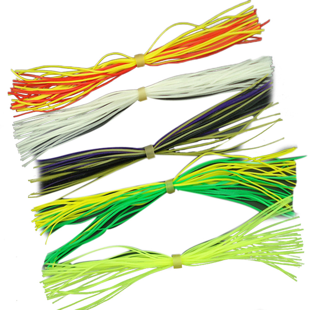 Fishing Lures 10pc Lead Head Hook Bionic Plants Fluff Glue Dress Outdoor Sports Fishing Accessories Wholesales High Quality Apr 14 100% High Quality Materials Sports & Entertainment