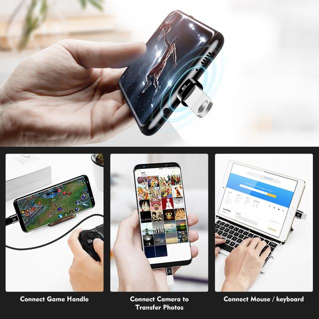 Universal USB Type C Phone Adapter