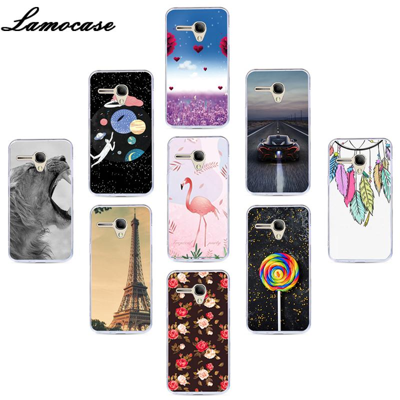 Lamocase Cute Animal Phone Case For <font><b>Alcatel</b></font> <font><b>One</b></font> <font><b>Touch</b></font> <font><b>Pop</b></font> <font><b>3</b></font> (<font><b>5.5</b></font>