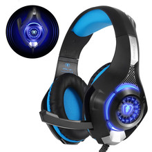 ihens5 G1 3.5mm Professional Gaming Headset Best casque Deep Bass Gamer Headphones with Mic LED Litht for Computer PS4 Game