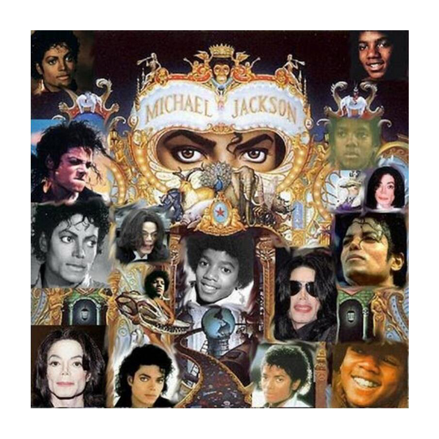 New Michael Jackson diy 5D Diamond Painting Cross Stitch Full Square Drill Arts Diamond Embroidery Rhinestones Painting