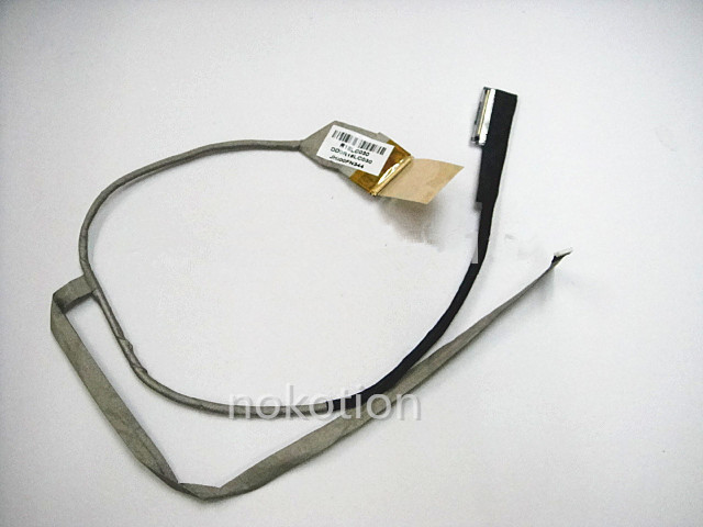 NOKOTION LVDS CABLE For HP Pavilion G7 G7-1000 LCD Cable DDOR18LC030 laptop LCD screen flex video cable uesd блок питания 4parts lac hp03 hp 18 5v 6 5a 7 4x5 0mm 120w
