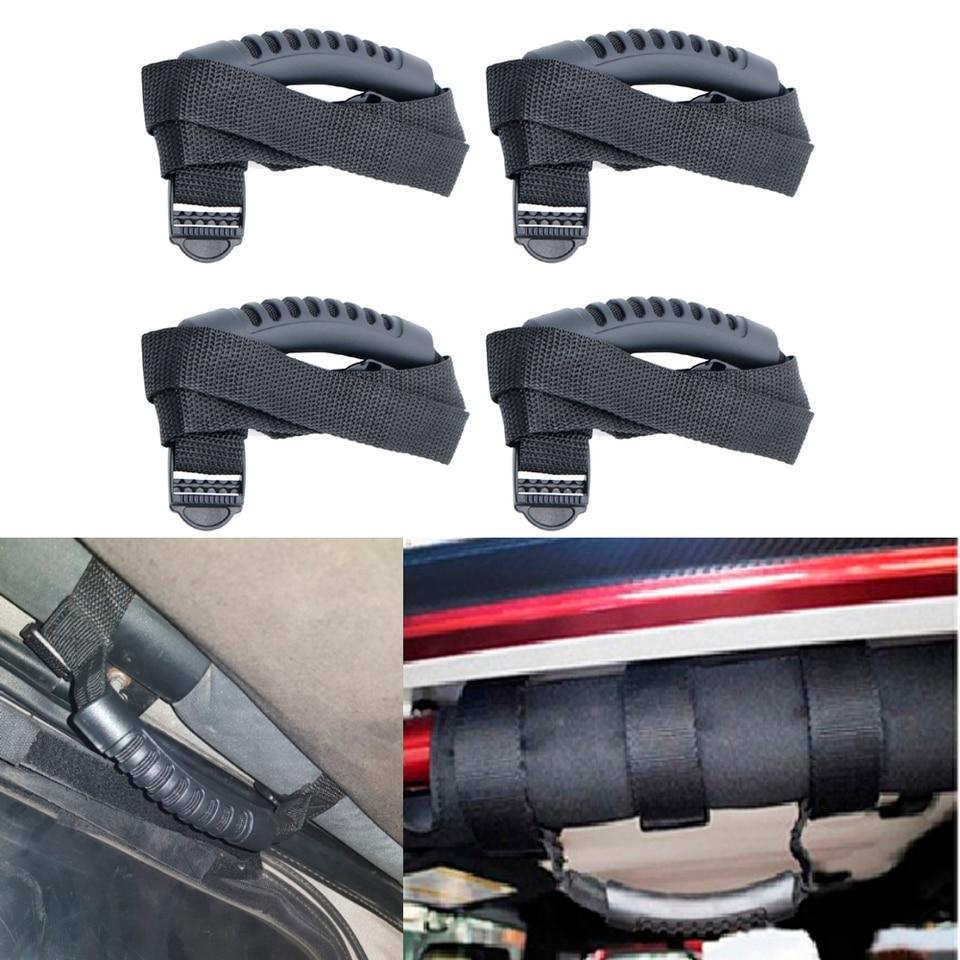 Red Roll Bar Grab Handles Grip Handle For Jeep Wrangler YJ TJ JK JK JL JLU Sports Sahara Freedom Rubicon X /& Unlimited 1956-2018
