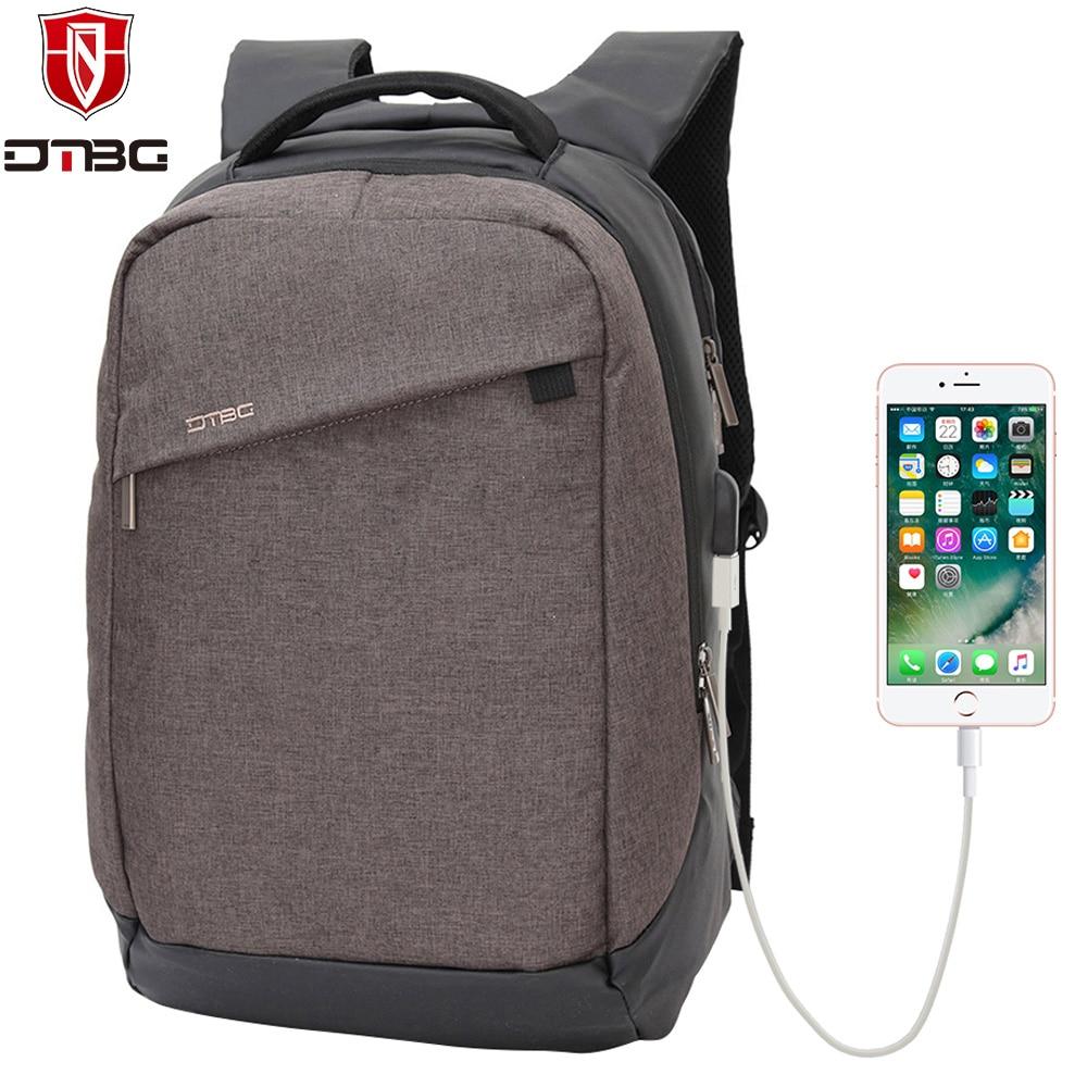 DTBG Laptop Backpack 15.6 Inch Laptop Bags for Men Women Nylon Computer Backpacks for Apple Macbook Water-resistant School Bag