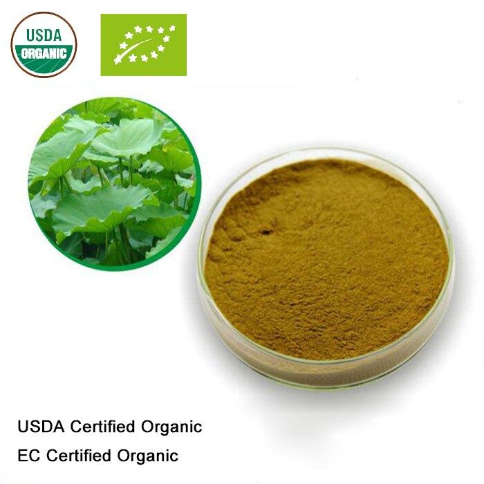 Gesundheitsversorgung Schönheit & Gesundheit Usda Und Ec Certified Organic Lotus Leaf Extract 10:1 Nuciferin