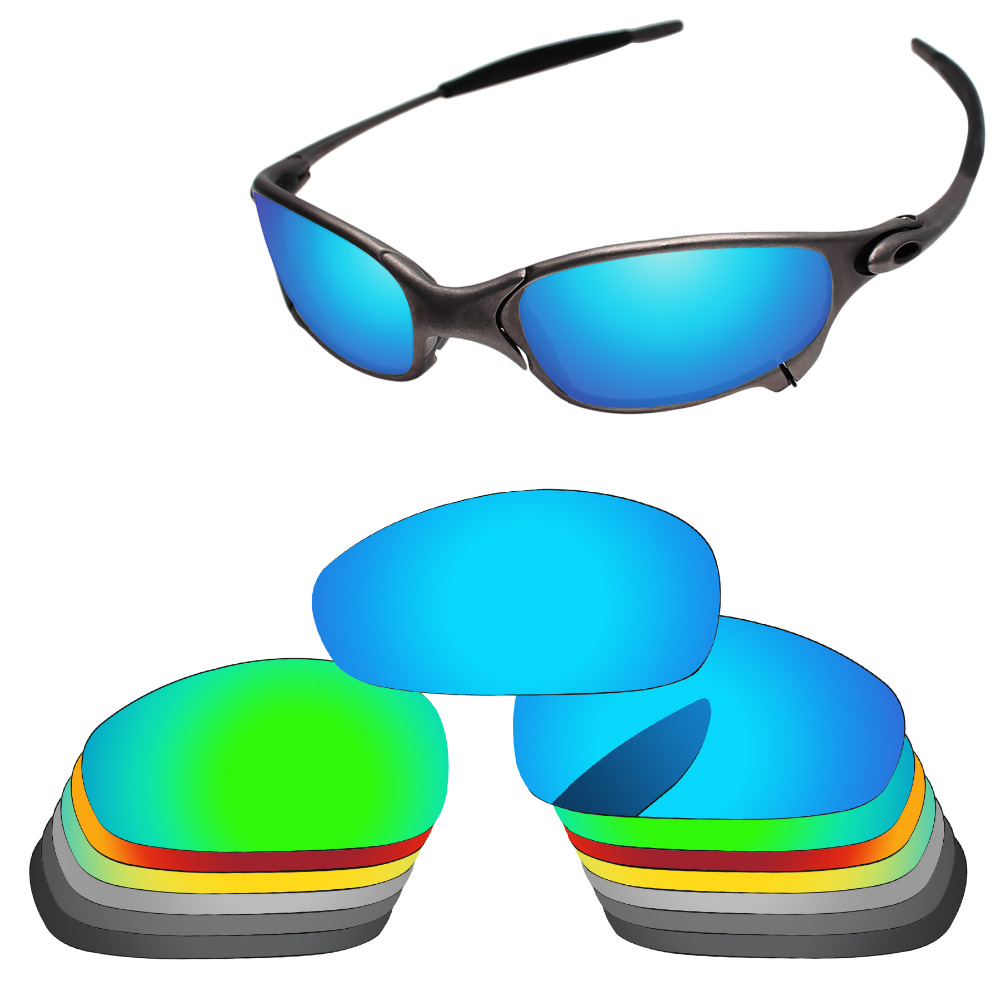 PapaViva Replacement Lenses Sunglasses Part Rubber Kits Screws for Authentic Juliet Sunglasses Polarized Multiple Options in Eyewear Accessories from Apparel Accessories
