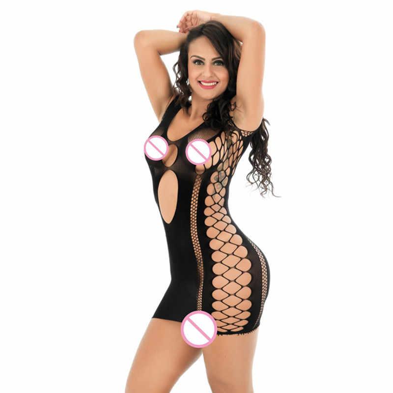 Fishnet Sexy Dessous Frauen Erotische Dessous Sex Produkte Sexy Kostüme Baby Puppe Erotische Kleid Deutet Sexy Unterwäsche Negligés