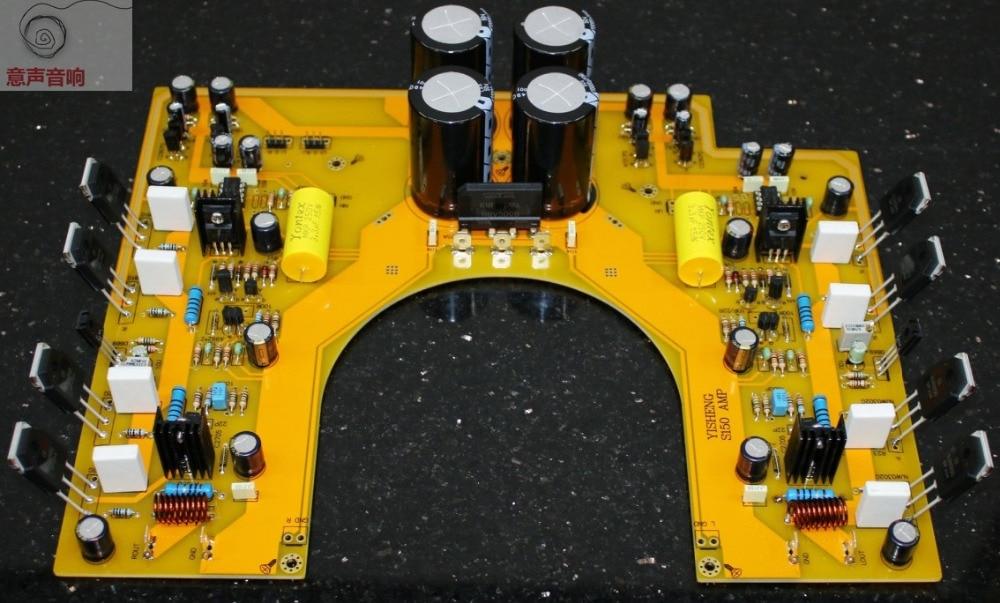 S150 Power Amplifier Board Kit HiFi Stereo Dual Channel Amp Kit 150W+150W douk audio lm3886 dual parallel pure power amplifier hifi amp board 120w 120w