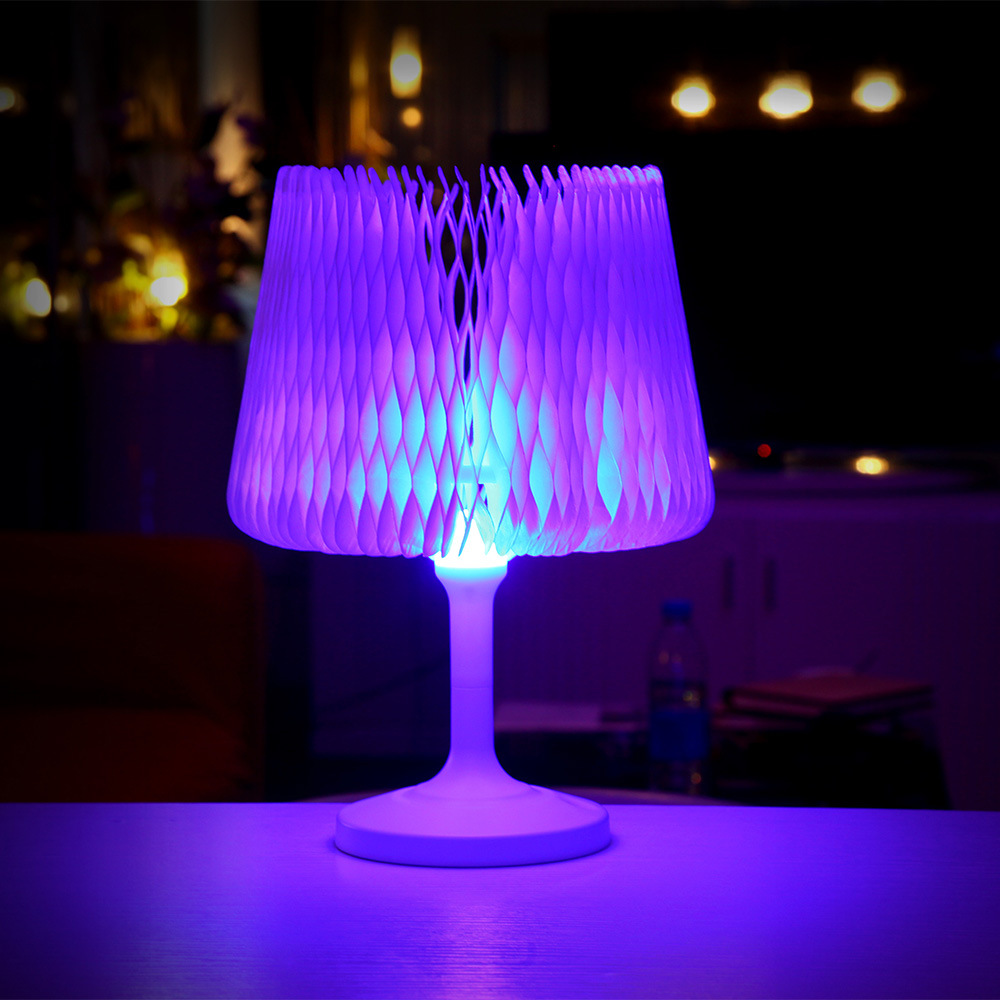 цена на Novelty Touch Sensor Table Lamp USB Desk Lamp LED Night Light Creative Bedside Lamp Color Changing Style For Home Bedroom Decor