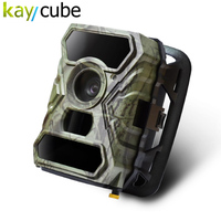 Kaycube Hunting Camera 12MP 1080P HD Wide Angle Infrared Night Vision IR LEDs Scouting Cam Digital Surveillance Camera S880