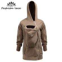 Baby Carrying Jacket Hoodie Kangaroo Coat&Jacket for Mom Baby Wearing Hoodie Plus Size