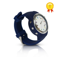 best gift to kids child life waterproof pink blue smart watch kid gps phone watch saat hour with sim card sos funtion gps watch