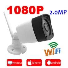 Ip-камера wifi 1080 P наружная система видеонаблюдения беспроводная водостойкая камера безопасности Мини ipcam инфракрасный домашний Wi-Fi JIENU