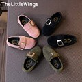2017 spring new Fashion boys loafers chaussure suede Non-slip matte girls casual Flat toddler shoes Super soft and comfortable