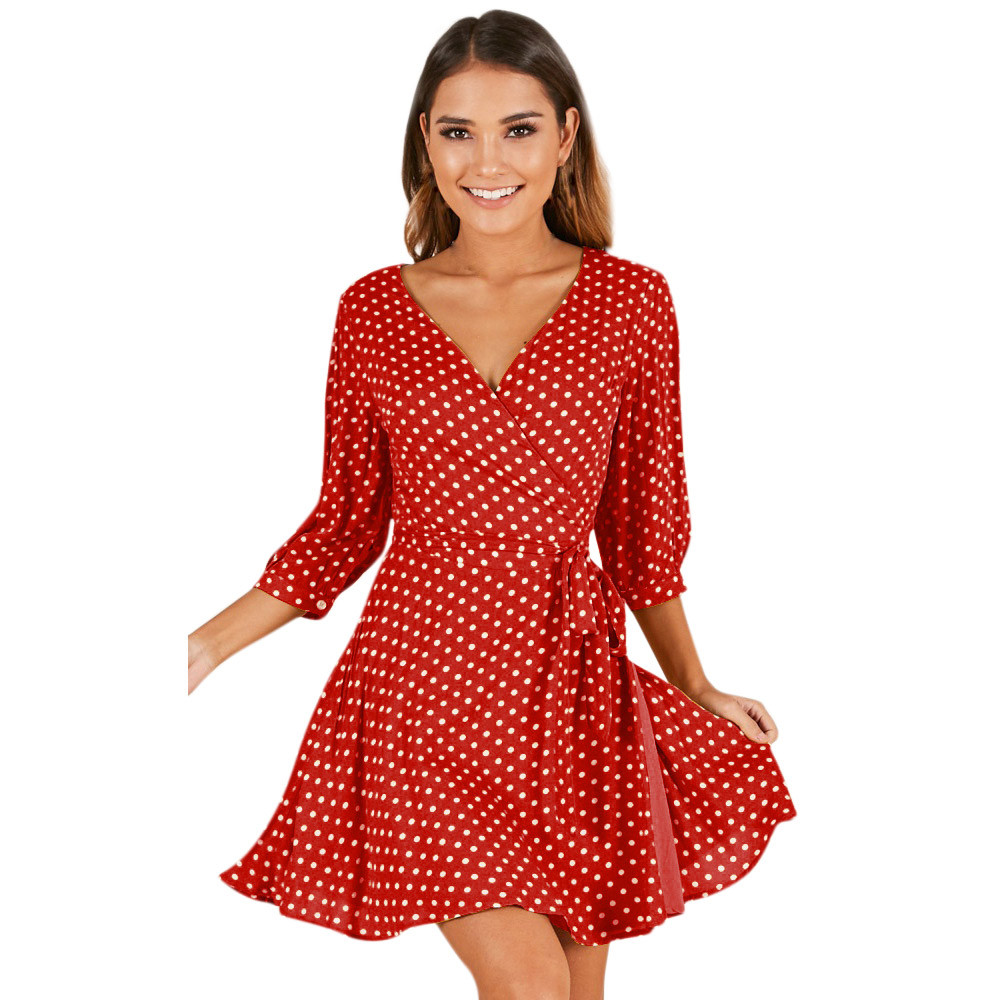 Summer dress women floral elastic sexy dess fashion clothes chiffon womens cothing high waist beach dresses Drop Shipping 3J11*