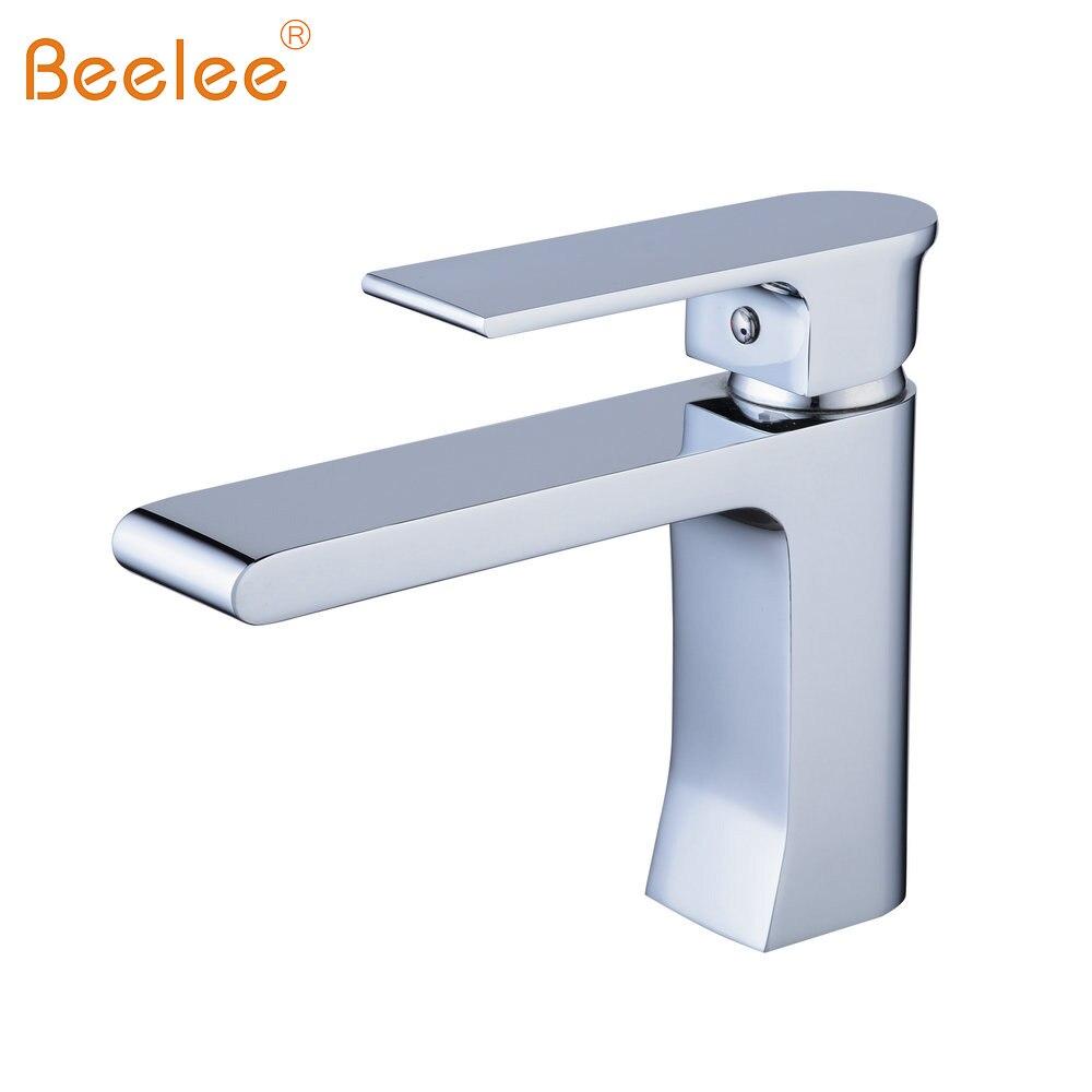 Beelee Bathroom Basin Faucet Chrome/Brushed Nickel/Black Mixer Tap ...