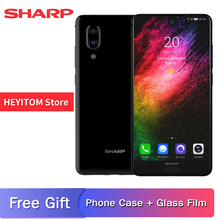 "SHARP AQUOS C10 S2 SmartPhone Android 8.0 4GB   64GB 5.5 ""FHD  Snapdragon 630 Octa core Face ID NFC 12MP 2700mAh 4G mobile phone"