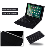 Rechargeable Bluetooth Keyboard Leather Case Cover For Apple IPad Air1 2 IPad Pro 9 7 IPad