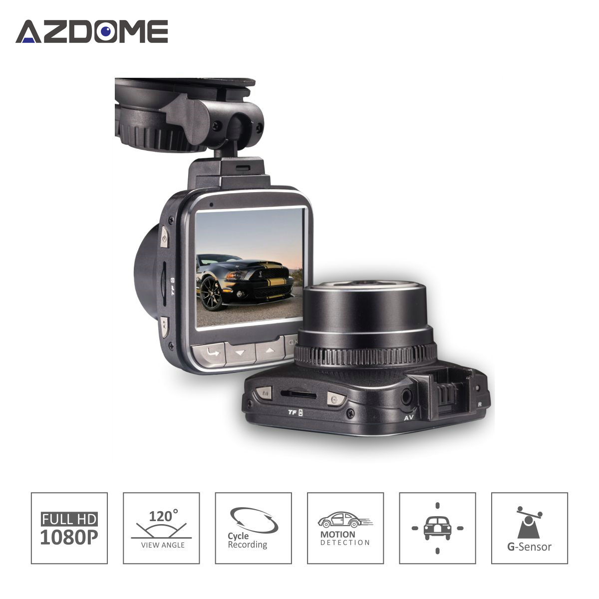 G50 Car DVR Auto Camera Novatek 96650 Chip Full HD 1080p 30fps 2.0'Lcd 170 Degree G-sensor WDR Car Video Recorder Dash cam H15