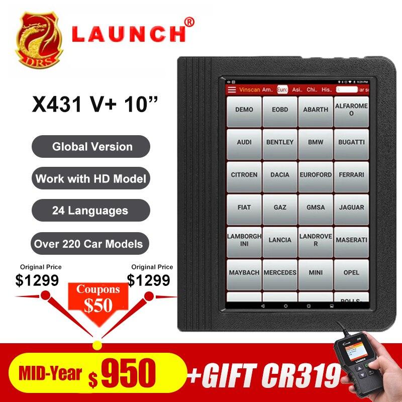 Lançamento X431 V plus 10