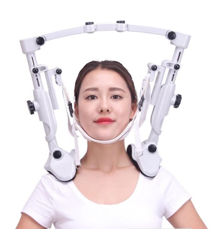 Cervical traction apparatus household neck fixed tension hanging air pillow Cervical holder support the neck cervical traction apparatus with high quality household fixed cervical stretched neck massager massage pillow