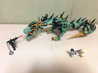 06051 592pcs Movie Series Flying Mecha Dragon Building Blocks Bricks Toys Children Model Gifts Compatible NinjagoINGly