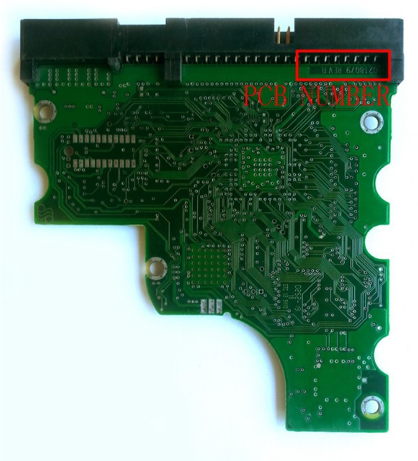 HDD PCB FOR SEAGAT/Logic Board/Board Number: 100218079 /Main Controller IC: 100167669 STICT:100218078