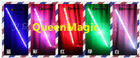 Wholesale Free Shipping 10 Pcs Lot Red Green Multicolor Light Dancing Cane Magic Trick Accessories Stage