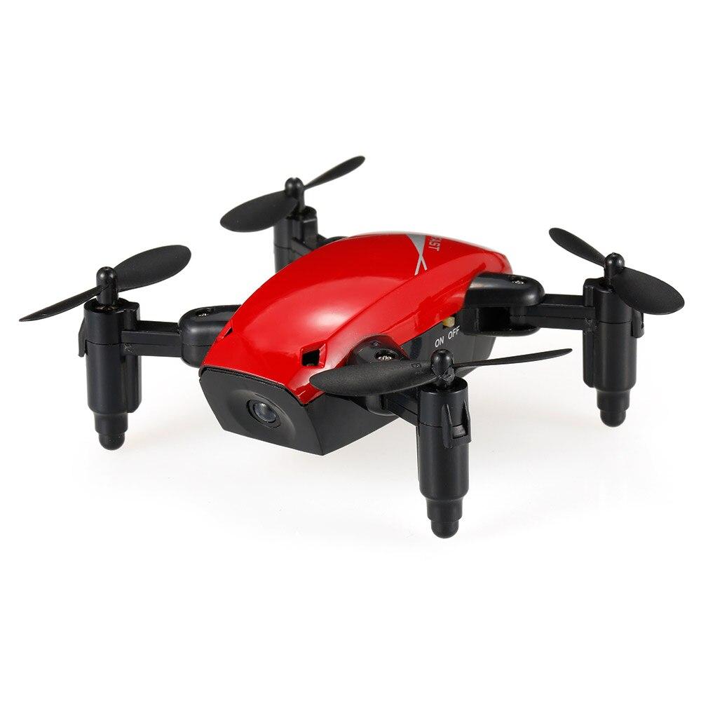 New Cute Mini Drone S9 2.4G 4CH 6-axis Gyro Selfie Drone Headless Mode One Key Return Foldable Dron RC Quadcopter RTF Gift (10)