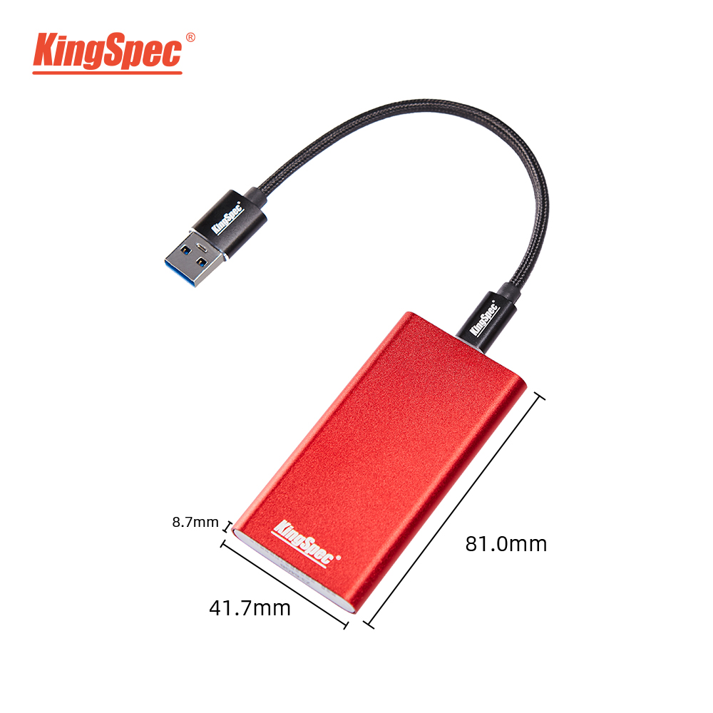 KingSpec портативный SSD 512gb ssd 1 ТБ hdd Внешний SSD Тип C USB3.1 500gb внешний диск Festplatte жесткий диск для ноутбука ПК