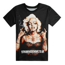 41d3f479 New Fashion Women 3D Printed T-shirts Super Star Marilyn Monroe Graphic Tees  Funny Sexy