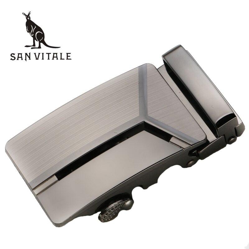 SAN VITALE Mens   Belts   Buckle Automatic Buckle for   Belt   men Metal Buckles for 3.5cm slot   belts   buckles without   belt