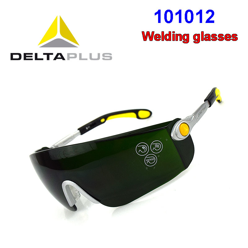 DELTA PLUS 101012 Protection Goggle IR5.0 Light Transmission Welding Glasses Be Applicable Riding Outdoors Safety Glasses